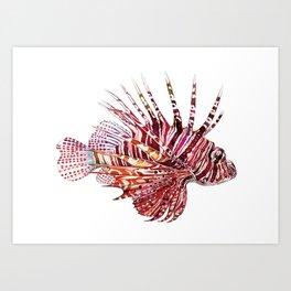 Ocean Dream - Lion Fish Art Print