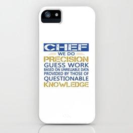 Chef iPhone Case