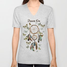 Dream On Unisex V-Neck