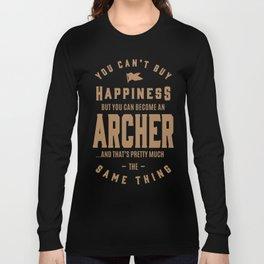 Archer - Funny Job and Hobby Long Sleeve T-shirt
