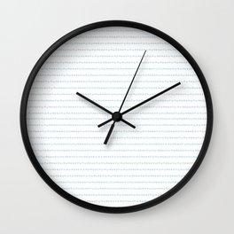 Les frises de mon enfance Wall Clock
