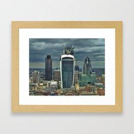 The City from Floor #36 (III) Framed Art Print