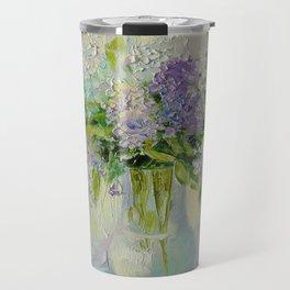 Delicate lilacs Travel Mug