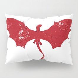 Vintage Game Dragon Pillow Sham
