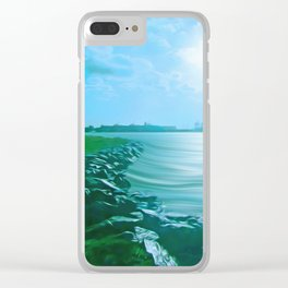 Marine Lake Clear iPhone Case