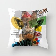 Girafe Throw Pillow