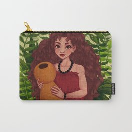 Hula Girl Carry-All Pouch