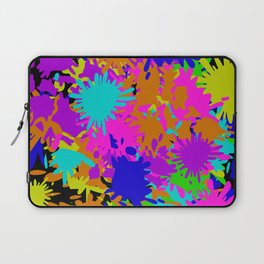 Splatoon Ink Fight Pattern Laptop Sleeve