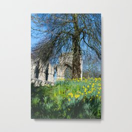 Spring in Museum Gardens Metal Print