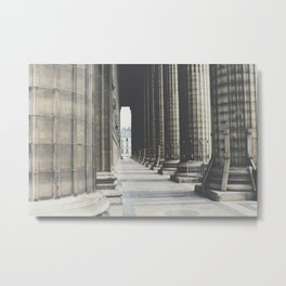 Columns at La Madeleine Metal Print