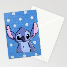 Lilo and Stitch - Stitch Stationery Cards
