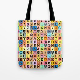 Chicks&Type Pattern SMALL Tote Bag
