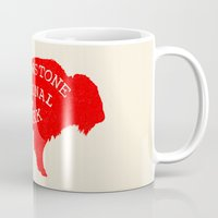 the national Mugs featuring Yellowstone National Park  by Terry Fan