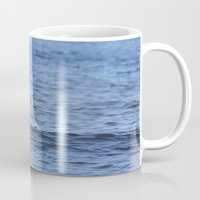 swan Mugs featuring Swan by Susann Mielke