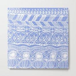Periwinkle Blanket Metal Print