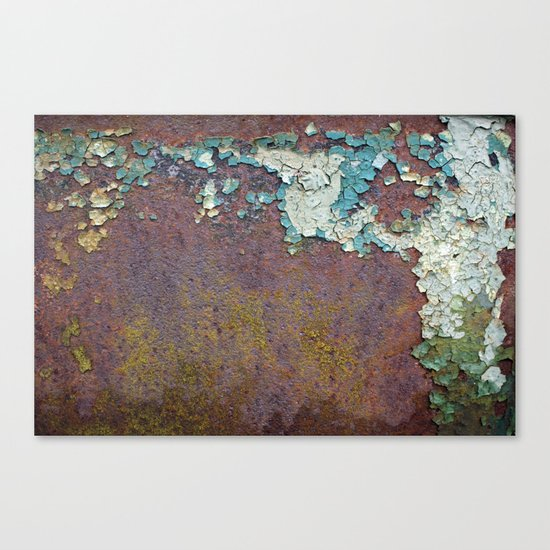 Paint mosaic Canvas Print