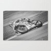 marc Canvas Prints featuring Marc Marquez by Alex Malyon