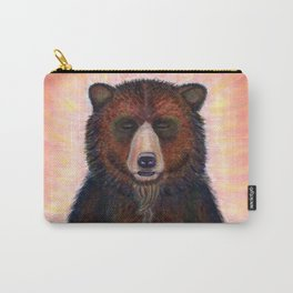 Blissed Out Bear Carry-All Pouch