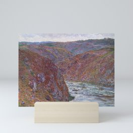 Valley of the Creuse (Gray Day) Mini Art Print