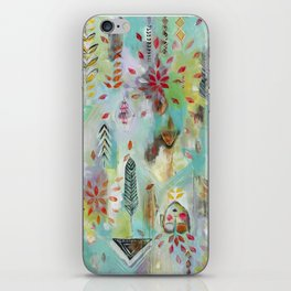 """""""Liminal Rights"""" Original Painting by Flora Bowley iPhone Skin"""