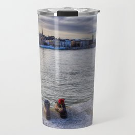 Shoes On The Danube Travel Mug
