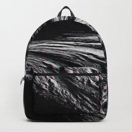 Erosion Glitch Distortion Textures Optical Delusions Backpack