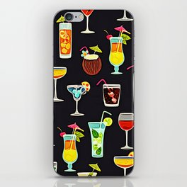 It's 5 O'Clock Somewhere Cocktails iPhone Skin