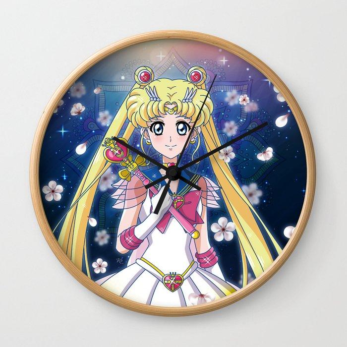 Super Sailor Moon Crystal Wall Clock