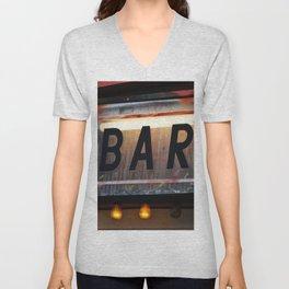 Bar Sign Unisex V-Neck