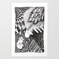 PSYKE2 Art Print