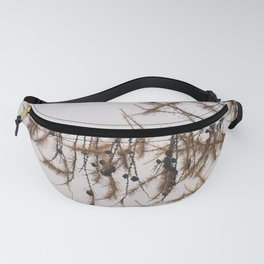 Pine tree in the autumn Fanny Pack