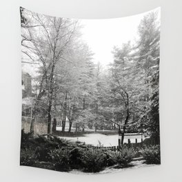 The Trees - Winter White Wall Tapestry