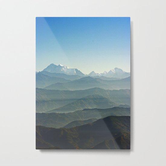 Hima - Layers Metal Print