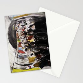 London Underground Subway Going To Work Part 2 Stationery Cards