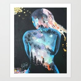 The Feeling of Being Art Print