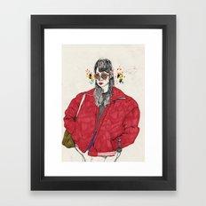 girl5 Framed Art Print