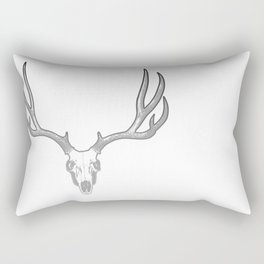 Deer skull Rectangular Pillow