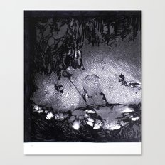 Cave Drawing III Canvas Print