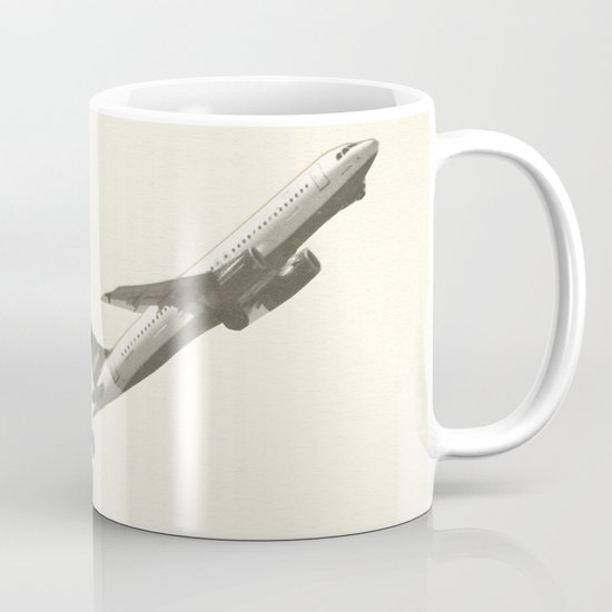 Leaving on a Jet Plane Mug