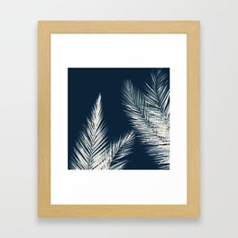 Palm Cyanotype #2 Framed Art Print