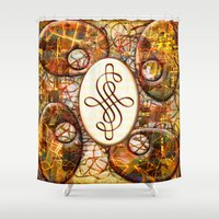 beth hoeckel Shower Curtains featuring Beth (#TheAccessoriesSeries) by Wayne Edson Bryan