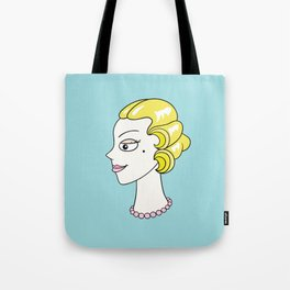 Her Ladyship (without border) by Blissikins Tote Bag
