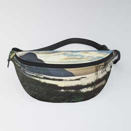 Mountains and Pond (Landscape Photography) Fanny Pack