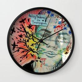 Surreal dreams 2 Wall Clock