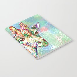 Colour Giraffe Notebook