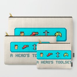 A Hero's Toolset Carry-All Pouch