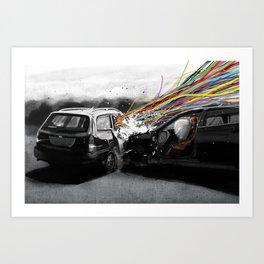 The Big escape Art Print