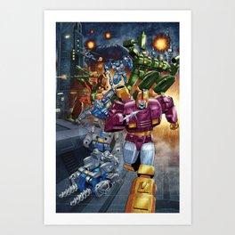 Wreck n Rule! Art Print