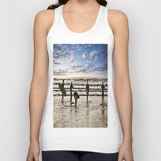 Surfs up Boys Unisex Tank Top