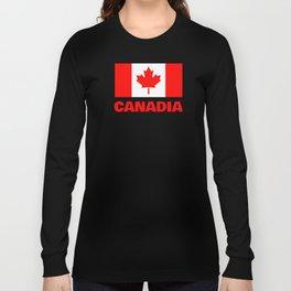 Canadia - Canadan Flag Long Sleeve T-shirt